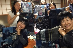 Boro Inspired Sashiko Patchwork Workshop Happy