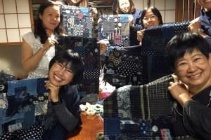 Boro Inspired Sashiko Patchwork Workshop Happy