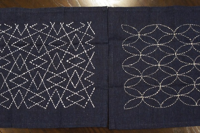 Sashiko Workshop July 2018 Sample
