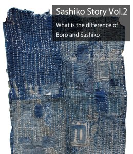 Difference Sashiko and Boro