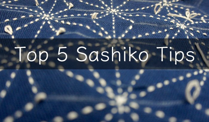 Top 5 Sashiko Tips Cover R