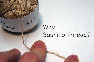 Why Sashiko Thread Cover