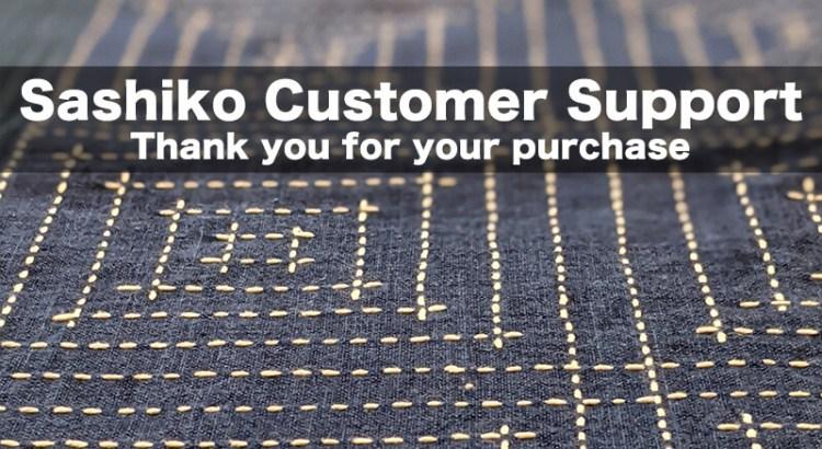 Sashiko Customer Support