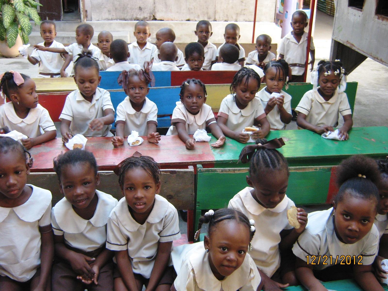 Gci School In Haiti Gci Update