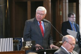 Omaha Sen. Robert Hilkemann was elected by the body to serve as chairperson of the Committee on Committees.