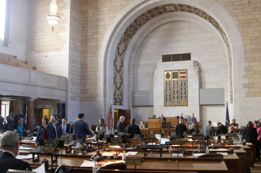 The 105th Nebraska Legislature convened Jan. 3 for its 60-day second session.