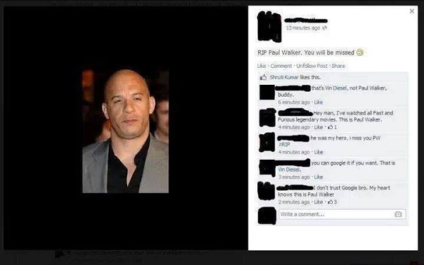 Funny FB Comment with Images