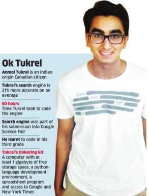 Anmol Tukrel Search Engine