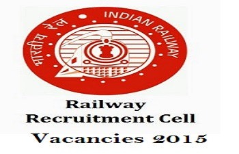 RRC Recruitment 2015