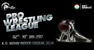 pro wrestling league 2017 schedule