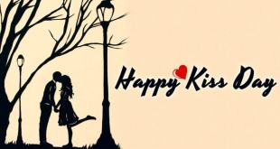 happy kiss day wishes quotes shayari sms