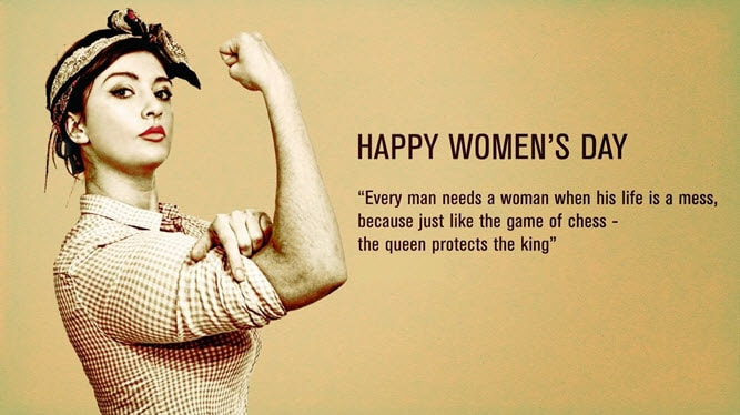 Strong Happy Woman Quotes: Happy Women's Day 2019 Wishes, Messages, Pictures, Quotes