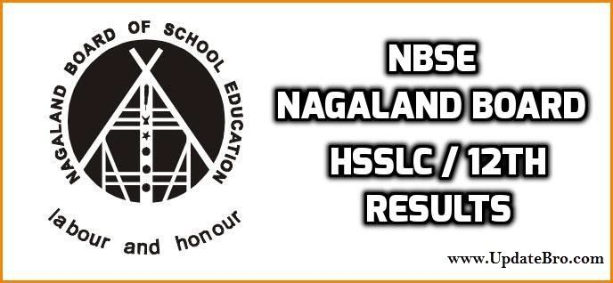 NBSE Nagaland HSSLC (12th Class) Result 2018 Name Wise