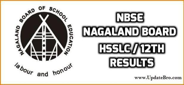 nbse nagaland hsslc & 12th class results