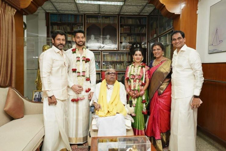 chiyaan-vikram-daughter-akshita-wedding-photos-videos