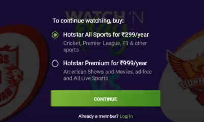 Hotstar Premium Subscription