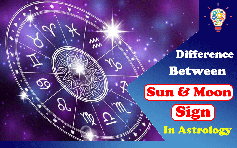 What Is The Difference Between A Sun & Moon Sign In Astrology?