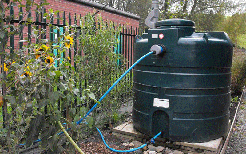 Install A Water Tank