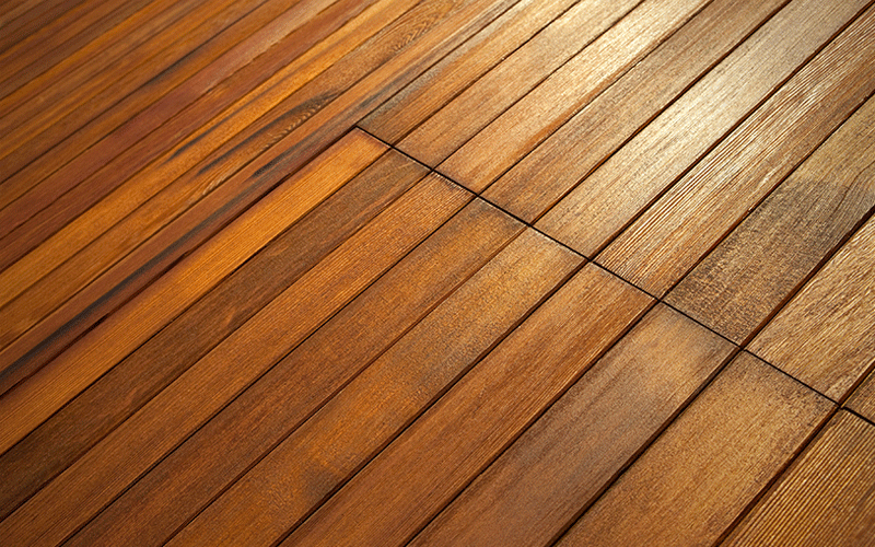 Scandinavian Architecture Wood Floor