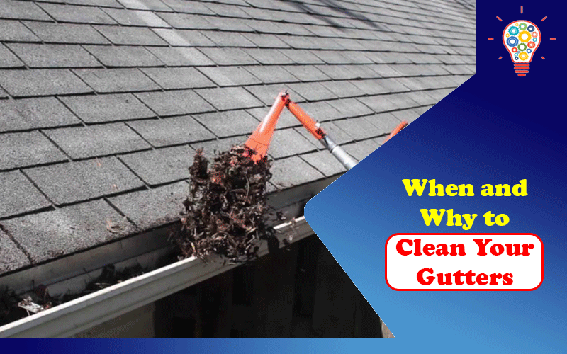 When and Why to Clean Your Gutters?