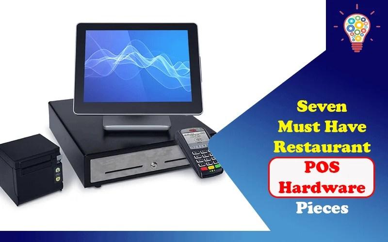 Restaurant POS Hardware Pieces