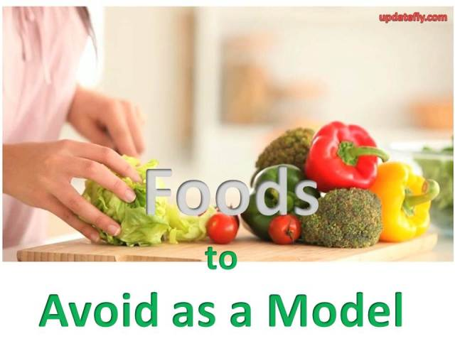 food to avoid as a model