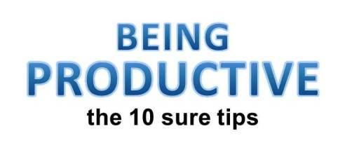 productive-tips