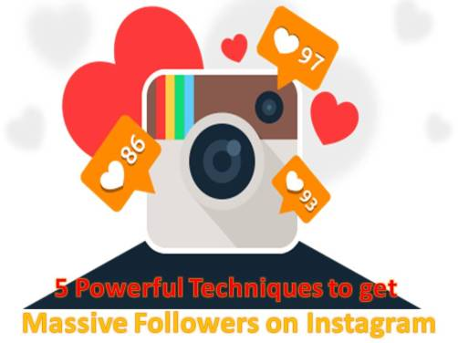 Techniques to get massive Followers on Instagram