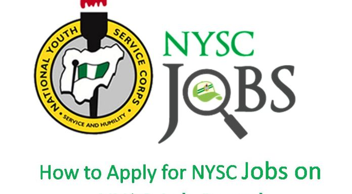 How to Apply for NYSC Jobs on NYSC Job Portal