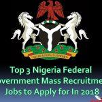Nigeria Federal Government Mass Recruitment