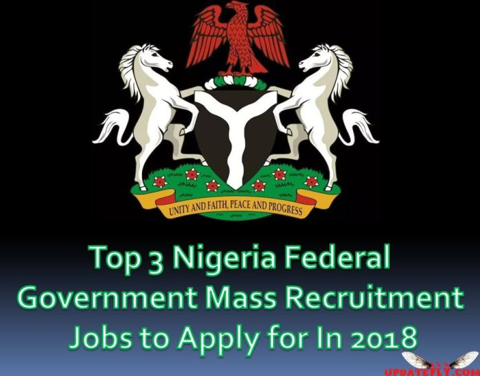 Nigeria Federal Government Mass Recruitment