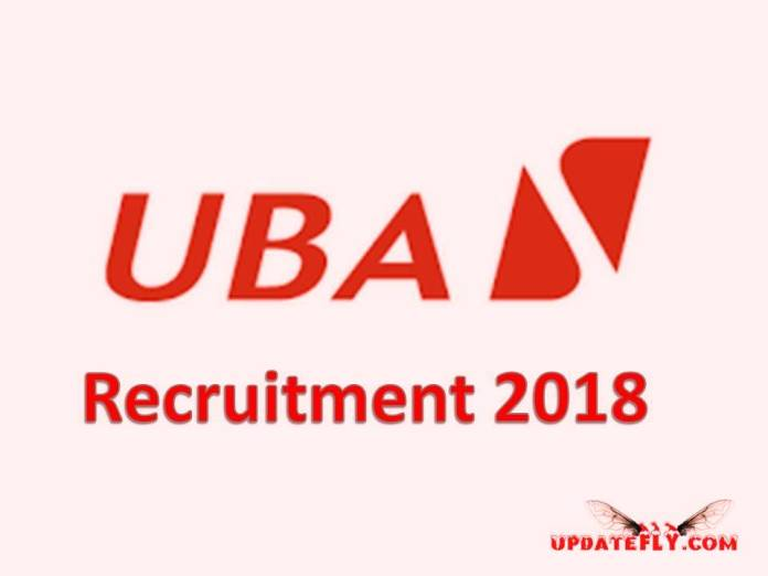 UBA Recruitment 2018/2019