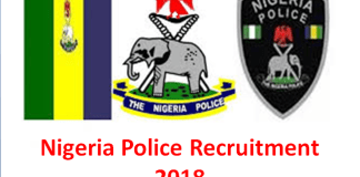 Nigeria Police Recruitment 2018