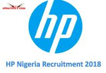 HP Nigeria Recruitment 2018