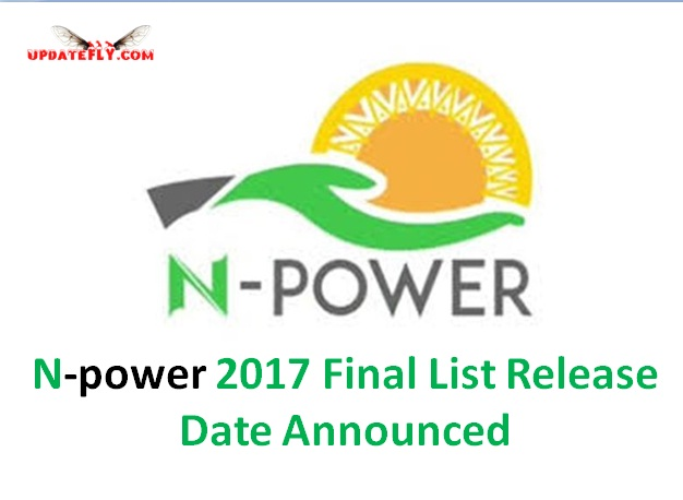 N-power 2017 Final List Release Date