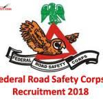 FRSC Recruitment 2018