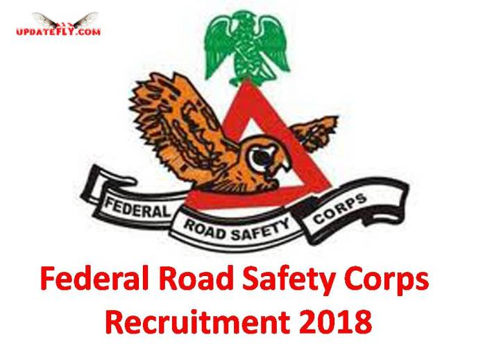 FRSC Recruitment 2018