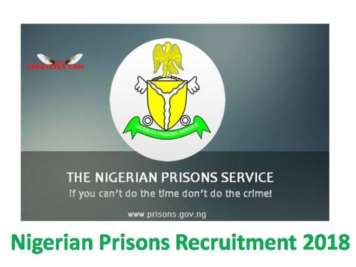 Nigerian Prisons Recruitment 2018