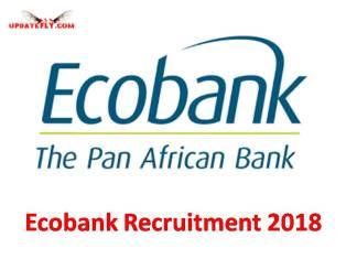 Ecobank Recruitment 2018