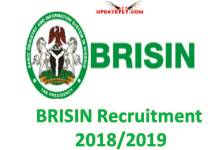 BRISIN Recruitment  2018/2019