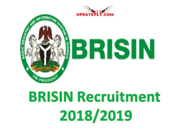 BRISIN Recruitment 2018/2019