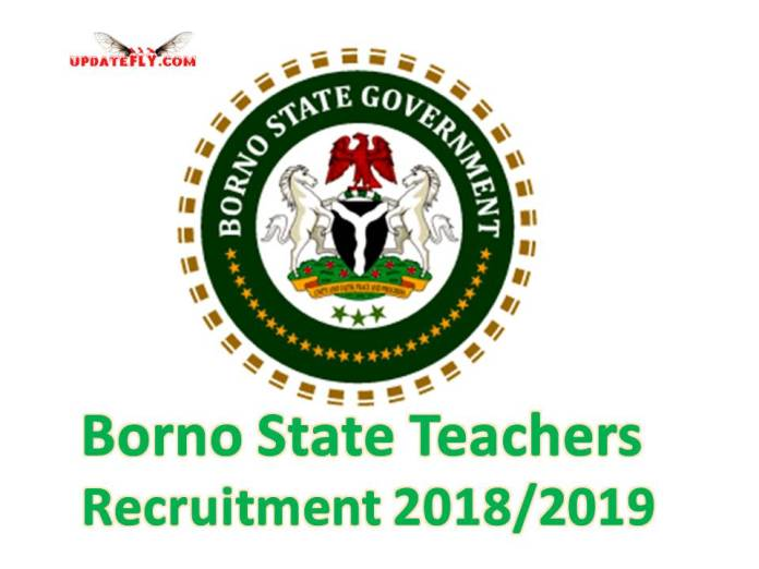 Borno State Teachers Recruitment 2018/2019