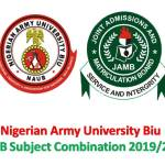 JAMB Subject Combination 2019/2020