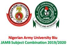 JAMB Subject Combination 2019/2020