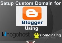 How to Setup a Custom Domain Name on Blogger