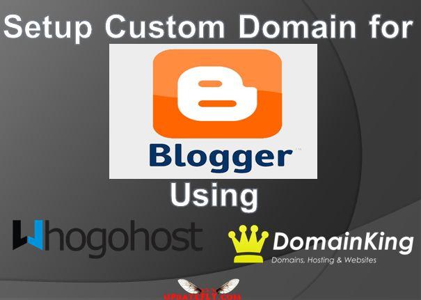 How to Setup a Custom Domain Name on Blogger