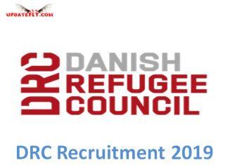Danish Refugee Council Recruitment