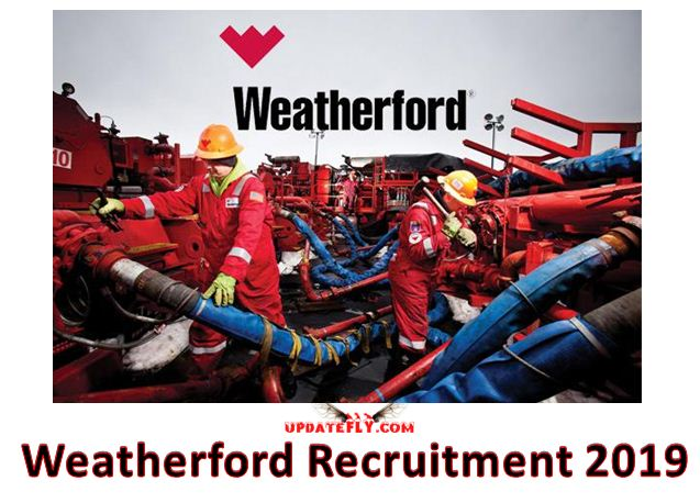 Weatherford Recruitment 2019