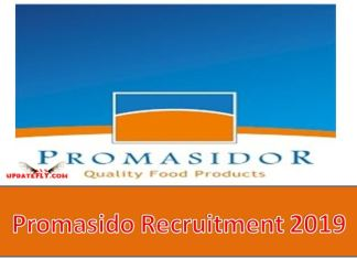 Promasido Recruitment 2019
