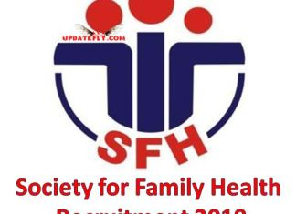 Society for Family Health Recruitment 2019